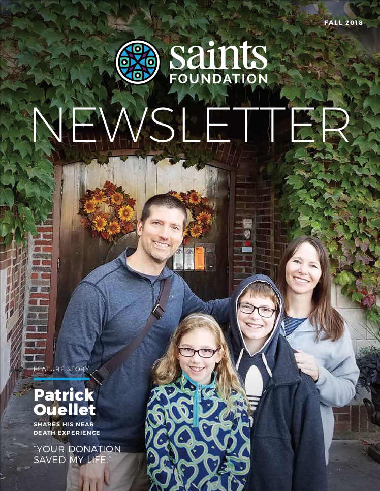 Saints Foundation Newsletter