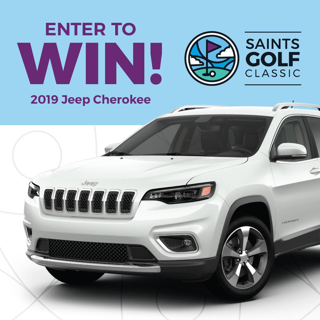 Win a 2019 Jeep Cherokee
