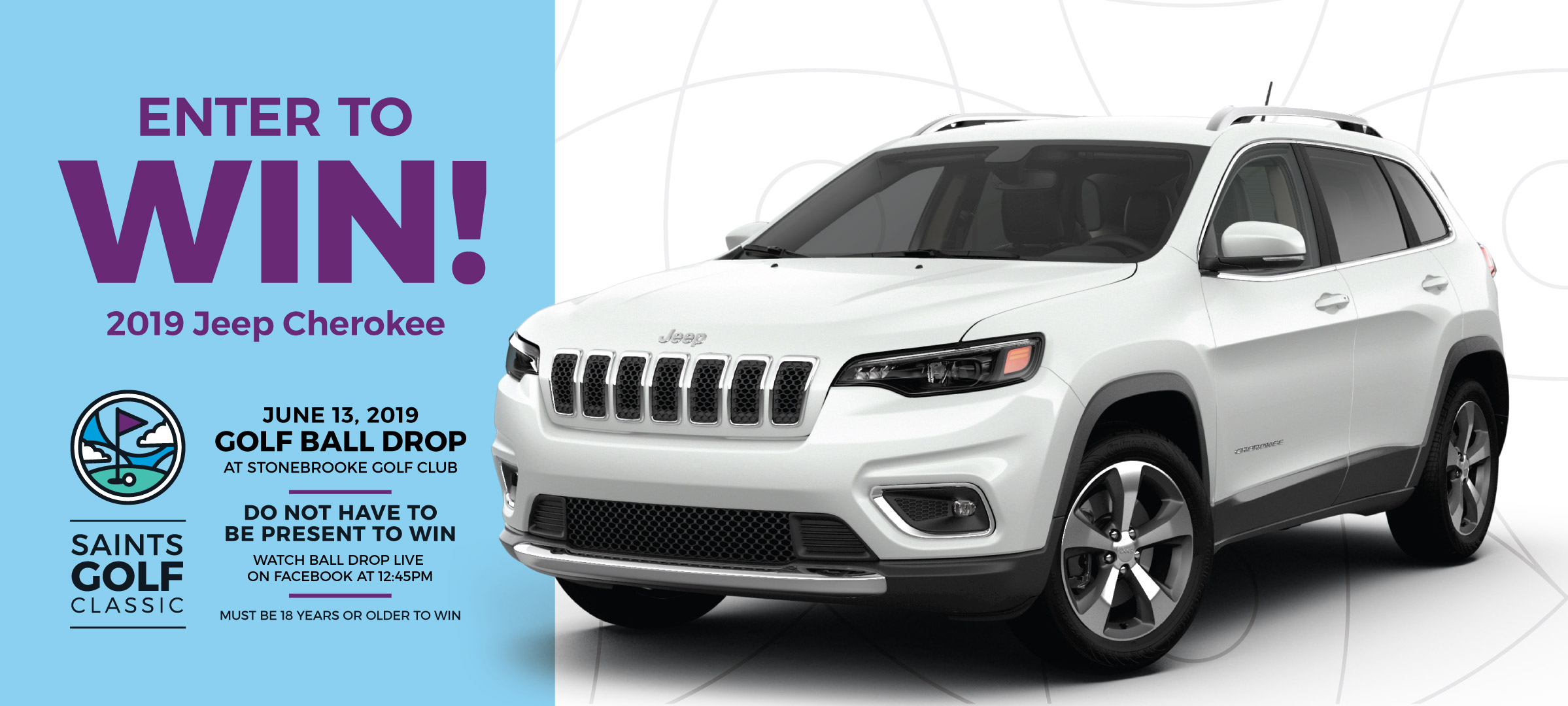 Win a 2019 Jeep Cherokee